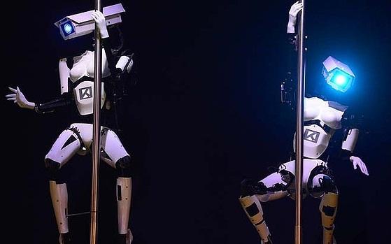 Vũ công robot khuấy động CeBIT 2014