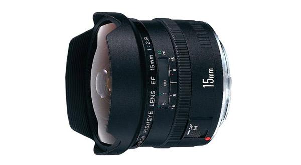 Canon EF 15mm/2.8 fisheye