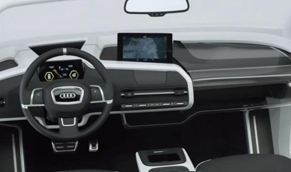 Volkswagen ra mắt buồng lái xe siêu tưởng