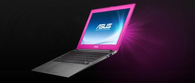 Asus thêm màu hồng tươi và hồng nhạt cho Zenbook