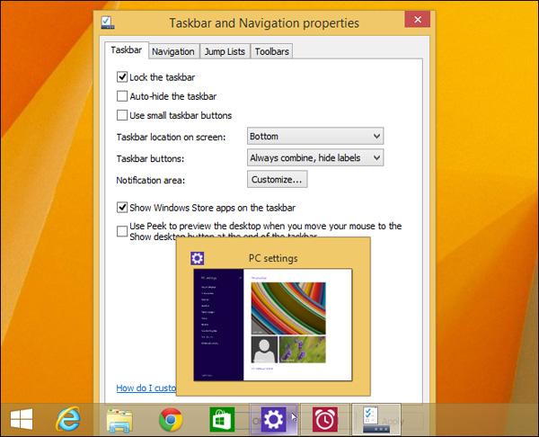 Windows 8.1 Update 1 đưa Windows trở lại với người dùng chuột và bàn phím