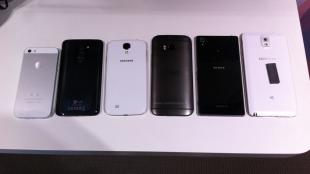 HTC One 2014 đọ dáng với các đối thủ