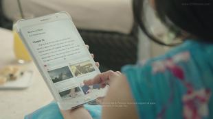 """Samsung lại tung clip """"dìm hàng"""" iPad, Surface và Kindle"""