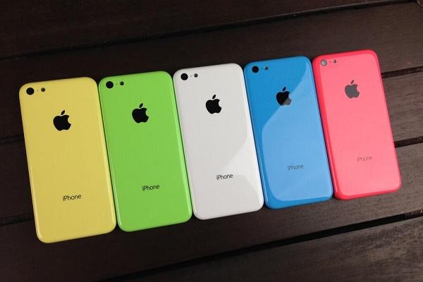 iPhone 5c bán chạy hơn Galaxy S4