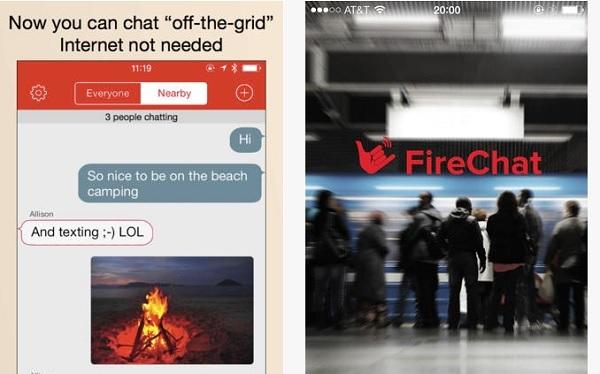 Nhắn tin trên iOS 7 không cần tới sóng di động và Internet