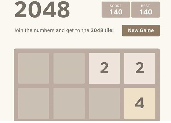 2048 sẽ làm bạn quên đi Flappy Bird từng tồn tại