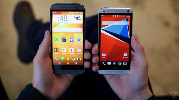 HTC One M8 thay đổi gì so với HTC One 2013?