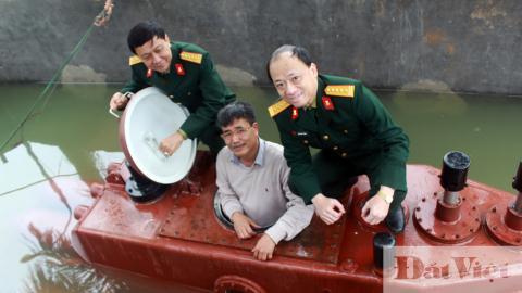 Tàu ngầm Trường Sa được quân đội ủng hộ