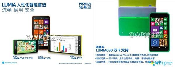 Ảnh thực tế Nokia Lumia 630, lộ thêm cấu hình