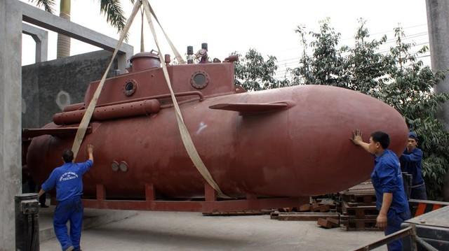 Tàu ngầm Trường Sa có gì đặc biệt?