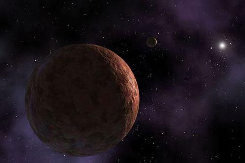 Phát hiện hành tinh hồng ở rìa hệ mặt trời