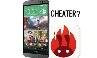 HTC One M8 gian lận điểm benchmark AnTuTu?