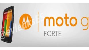 Lộ diện Moto G Forte, phiên bản chống nước của Moto G