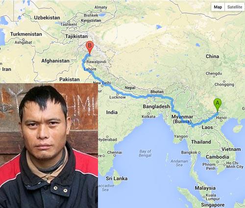 Nóng trên mạng: Người H'Mông lạc từ Mèo Vạc đến Pakistan