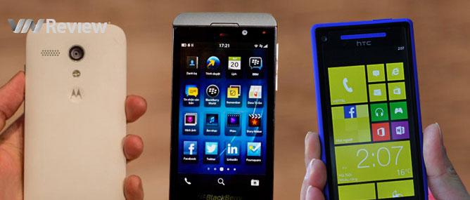 3 smartphone tầm giá 4 triệu đồng hót nhất hiện nay