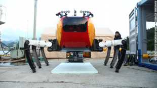 Khám phá Crabster CR200: Robot 6 chân lặn dưới đáy biển khơi