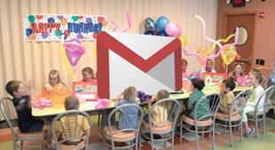 Gmail đón sinh nhật lần thứ 10 và những cột mốc đáng nhớ