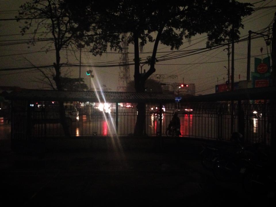 Ninh Bình sáng 3/4/2014. Ảnh: VOZ