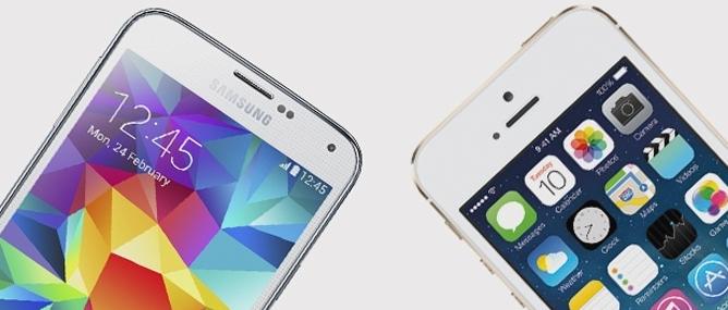iPhone 5s và Galaxy S5 đọ cảm biến vân tay