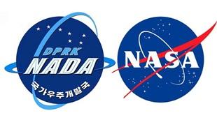 """Logo Cục hàng không vũ trụ Triều Tiên """"ăn theo"""" logo NASA"""