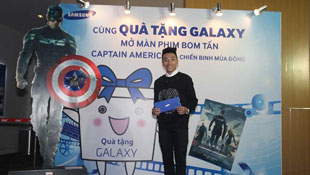 Samsung giới thiệu ứng dụng Quà tặng Galaxy tại Việt Nam