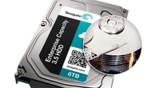 Seagate ra ổ cứng dung lượng lên tới 6TB