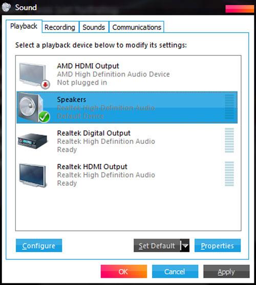 Máy tính PC cài lại Windows thì mất âm thanh, dù đã cài đủ driver