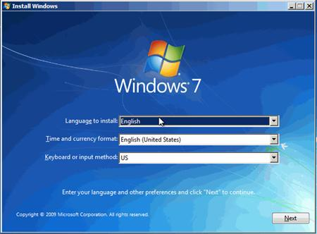 Không cài lại Windows 7 được bằng USB