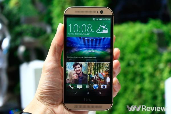 HTC One M8 tại Việt Nam có giá 16,79 triệu đồng, đặt hàng trước từ 21/04
