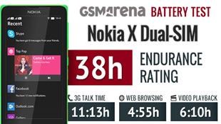 Đo thời lượng pin Nokia X bản 2 SIM