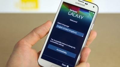 Doanh số ngày đầu của Galaxy S5 vượt trội so với Galaxy S4