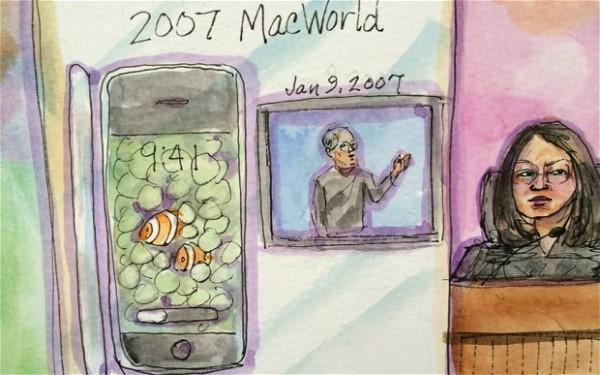 Phiên tòa Apple - Samsung náo loạn vì lạm dụng... smartphone