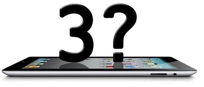 Tổng hợp các tin đồn về iPad 3