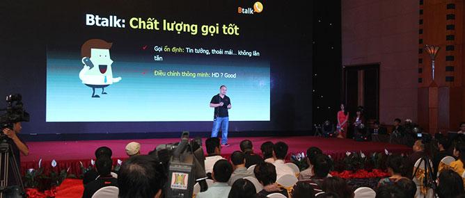 Ra mắt ứng dụng gọi điện, nhắn tin miễn phí Btalk