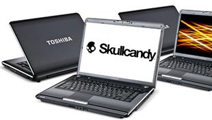 "Laptop tích hợp âm thanh ""khủng"" Skullcandy"