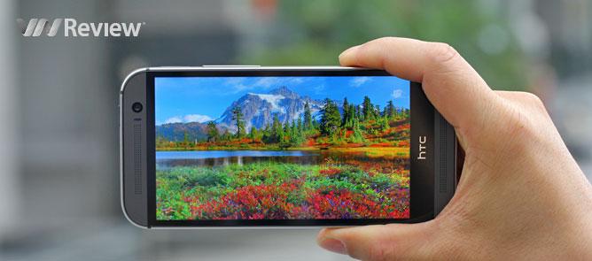 Trên tay HTC One M8 tại Việt Nam