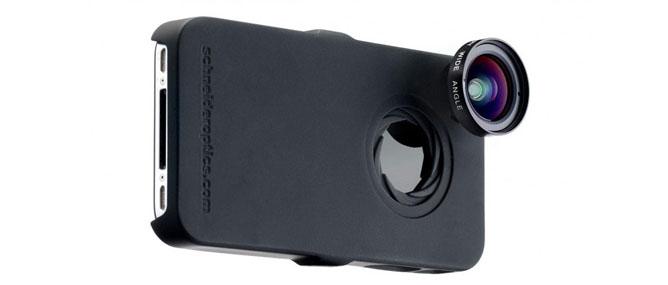 Ốp lưng iPhone cho phép gắn ống kính mắt cá