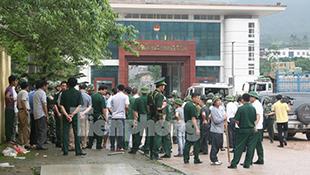 Ảnh toán người Trung Quốc cướp súng, bắn chết 2 chiến sĩ biên phòng