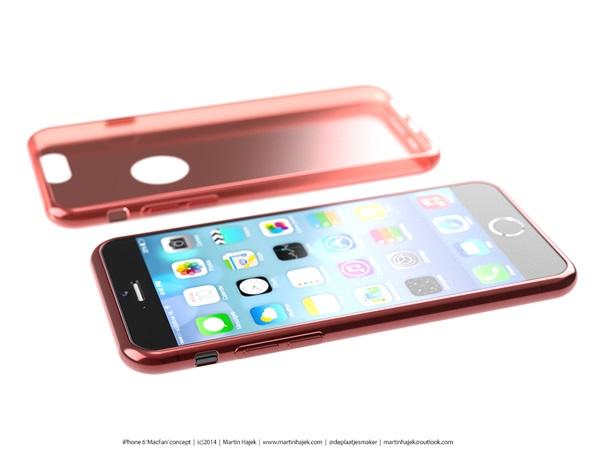 Concept iPhone 6 đẹp long lanh