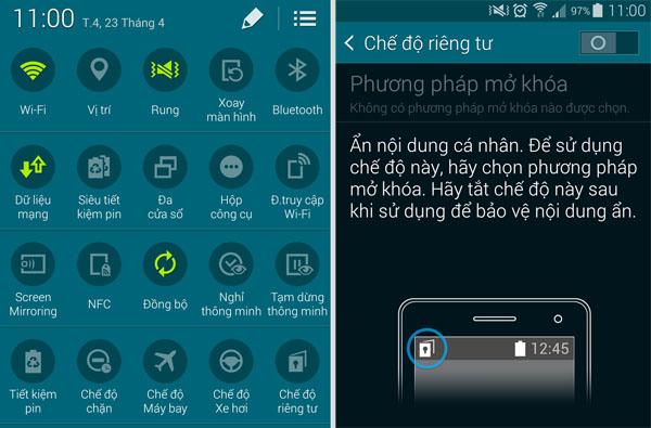 9 tính năng thú vị trên Samsung Galaxy S5