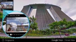 """Google Street View cập nhật tính năng... """"quay lại quá khứ"""""""