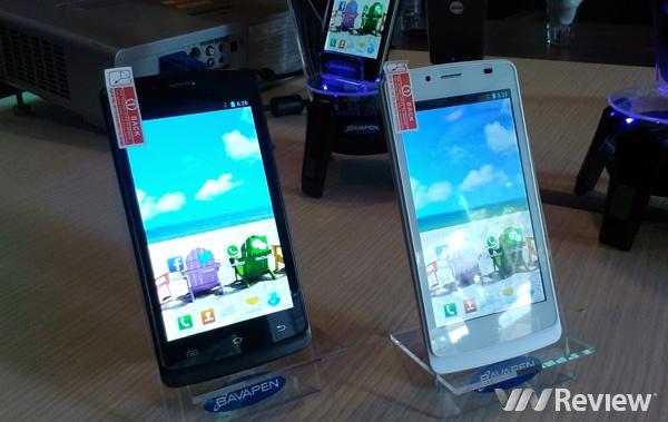 Bavapen giới thiệu bộ đôi smartphone chạy Android 4.2 giá rẻ