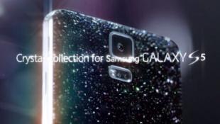 Galaxy S5 có thêm phiên bản pha lê tuyệt đẹp