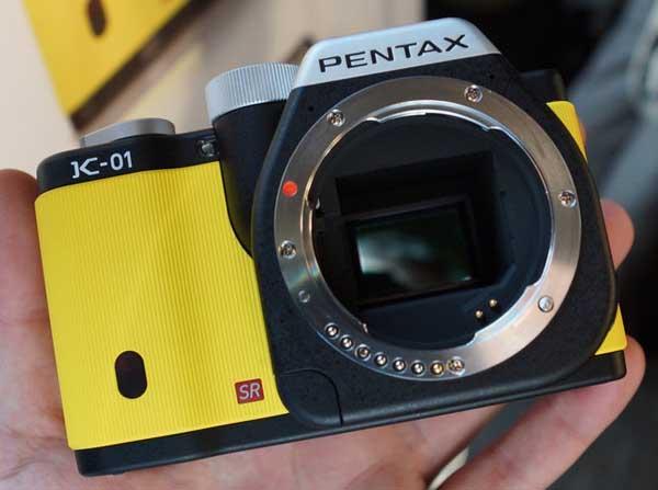 đánh giá nhanh Pentax K-01