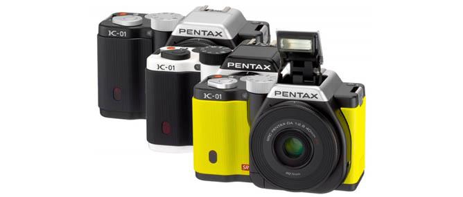 Đánh giá nhanh máy ảnh Pentax K-01 vừa ra