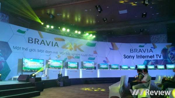 Sony giới thiệu 7 mẫu TV 4K và 10 mẫu TV LED tại Việt Nam