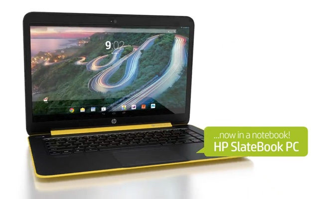 HP sắp ra Laptop chạy Android
