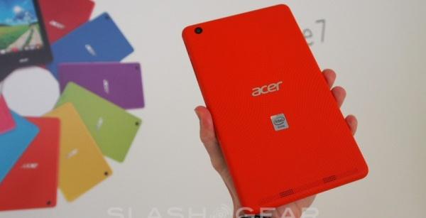 Acer giới thiệu 2 tablet mới, giá rẻ, có khả năng gọi điện
