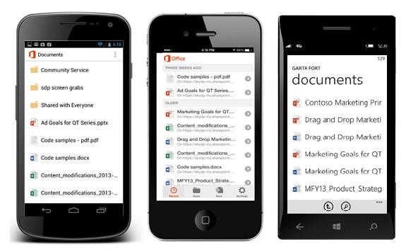 """Chỉ ít lâu sau khi Google giảm giá """"sốc"""" cho dịch vụ đám mây Google Drive, Microsoft cũng đã có bước tiến tương tự: tăng 40 lần dung lượng lưu trữ dành cho khách hàng của OneDrive for Business."""