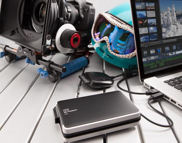 WD giới thiệu ổ cứng kép di động chuẩn Thunderbolt đầu tiên trên thế giới